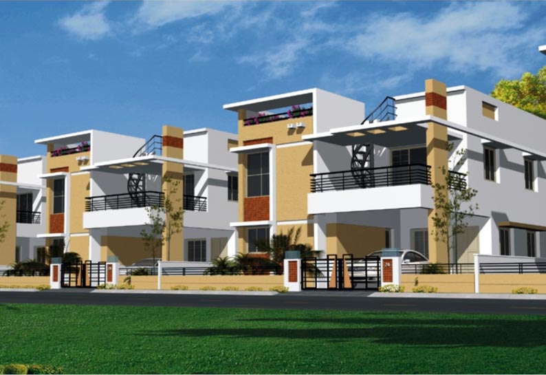 New home designs latest modern dream homes exterior designs for Townhouse exterior design