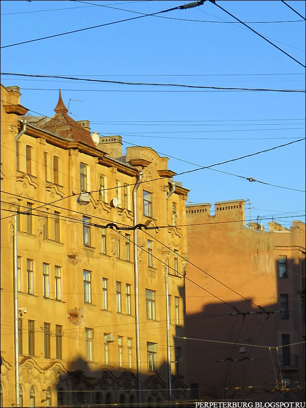 Улицы Петроградской стороны фото