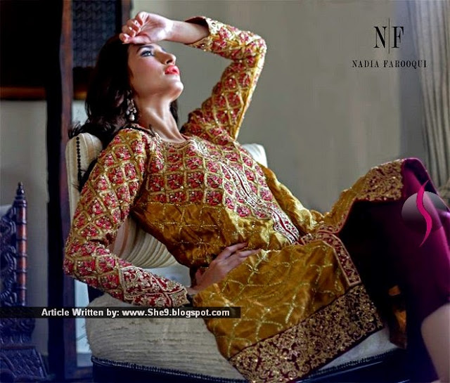 Nadia's Formal Wears from Karachi