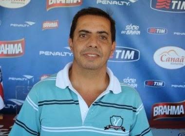 Paulo Ricardo, é o novo gerente da base do Bahia