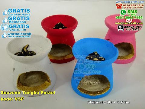 Souvenir Tungku Pastel