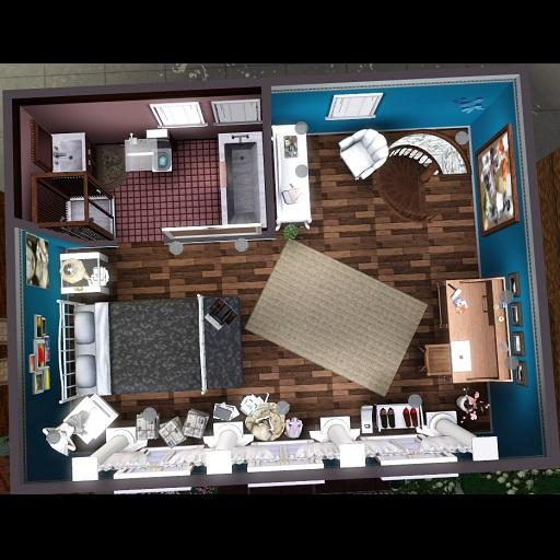 my sims 3 blog: sousoon urban chocolate apartment cc free, Modern haus