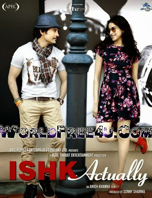 Poster Of Hindi Movie Ishk Actually (2013) Free Download Full New Hindi Movie Watch Online At worldfree4u.com