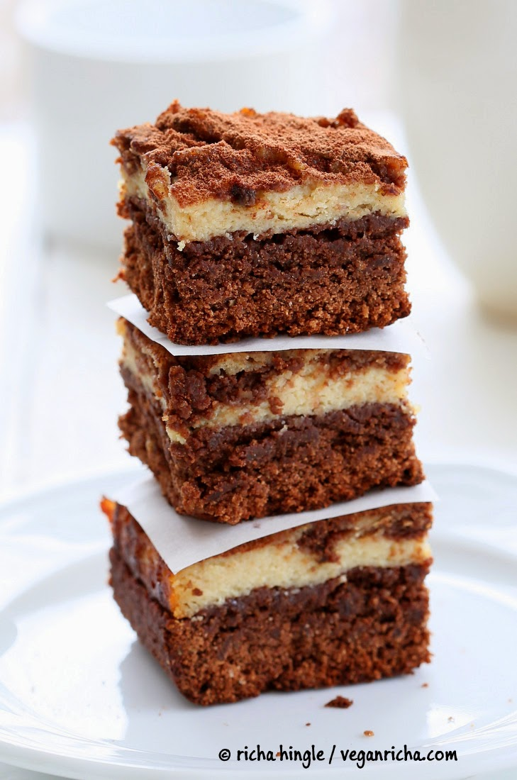 Tiramisu Cheesecake Brownies. Glutenfree Vegan Nutfree Recipe - Vegan ...