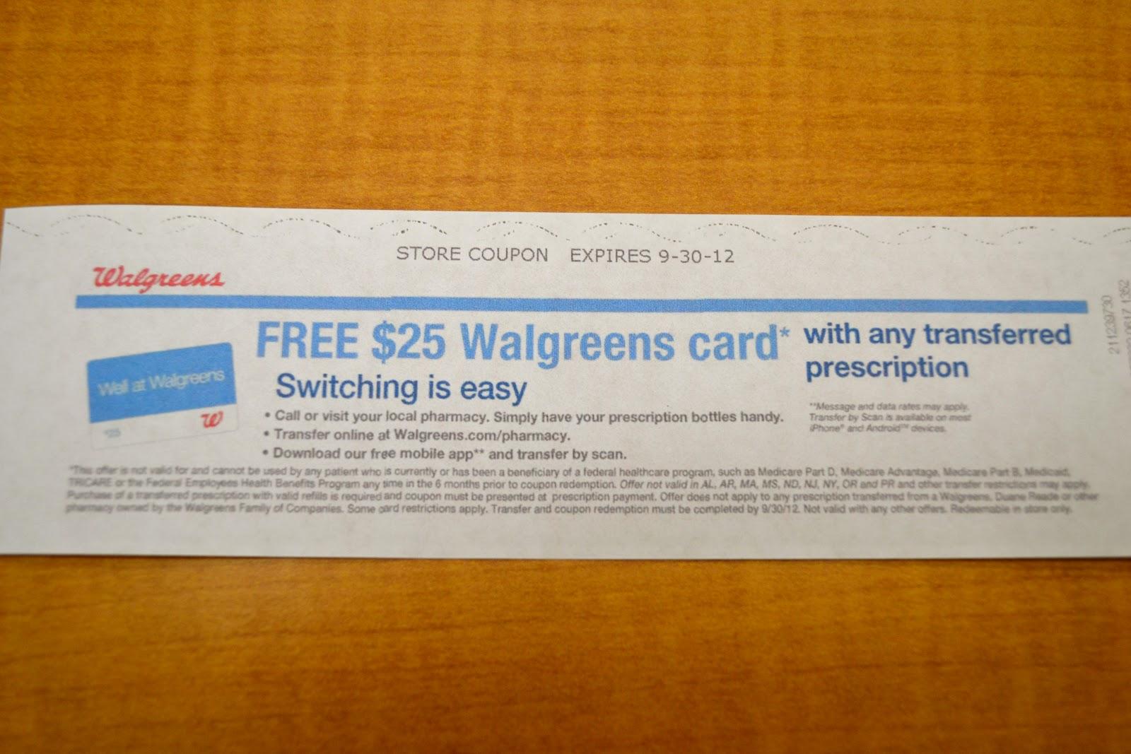 walgreens coupon - Walgreens Prescription Card