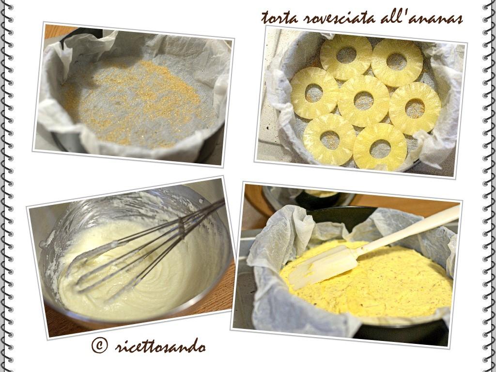 Torta rovesciata all'ananas come preparare la tortiera per la cottura