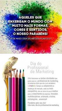 Dia do Artista Plástico e do Profissional de Marketing