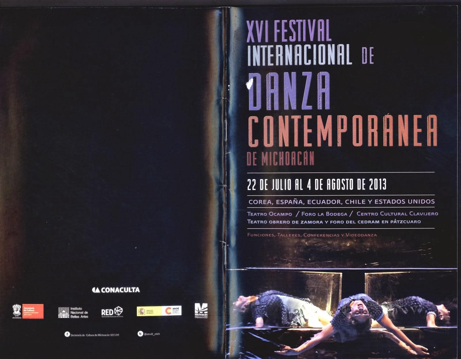 Festival Internacional de Danza Contemporánea de Michoacán