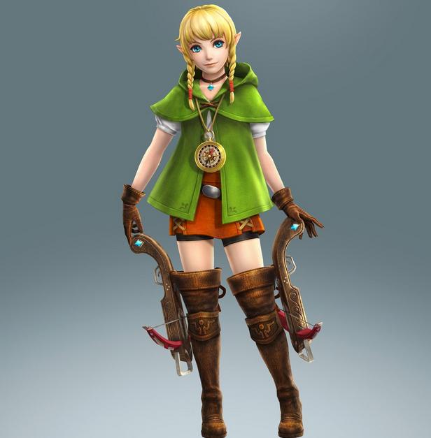 Linkle revealed for Hyrule Warriors Legends