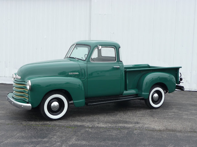 1949 Chevrolet Pickup Truck restored
