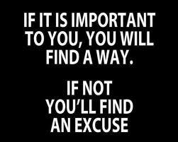 jangan mencari alasan