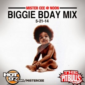 Mister Cee's Biggie Birthday Mix - May 21, 2014