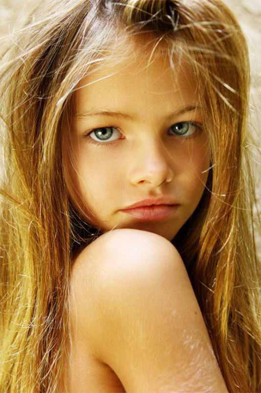 very cute young