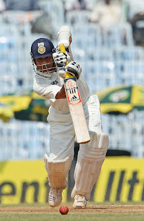 sachin tendulkar photos-sachin plays a straight drive during a test match