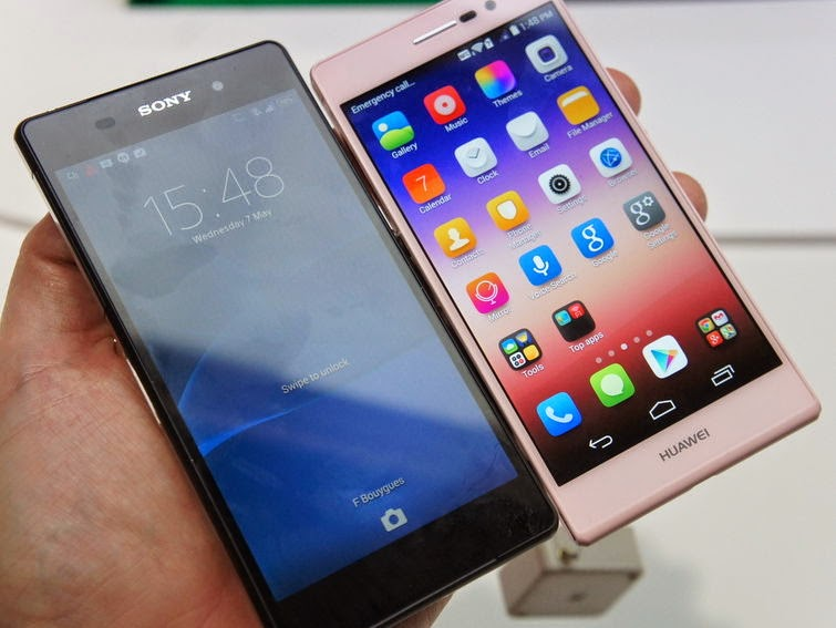 Huawei Ascend P7 Specs and Review