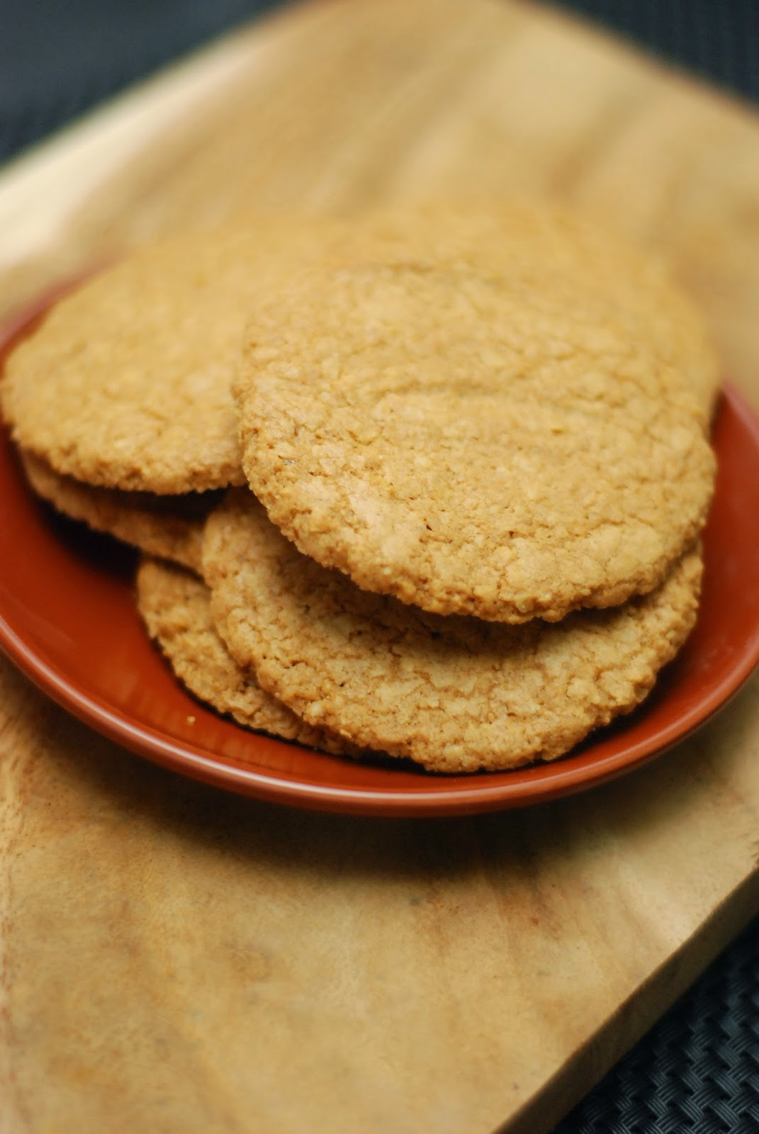 sugar free oatmeal crisps