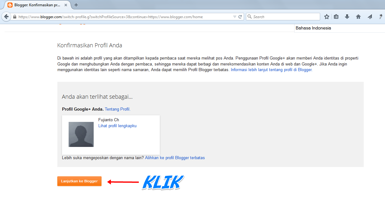 cara membuat website dengan blogger   welfi riyanto