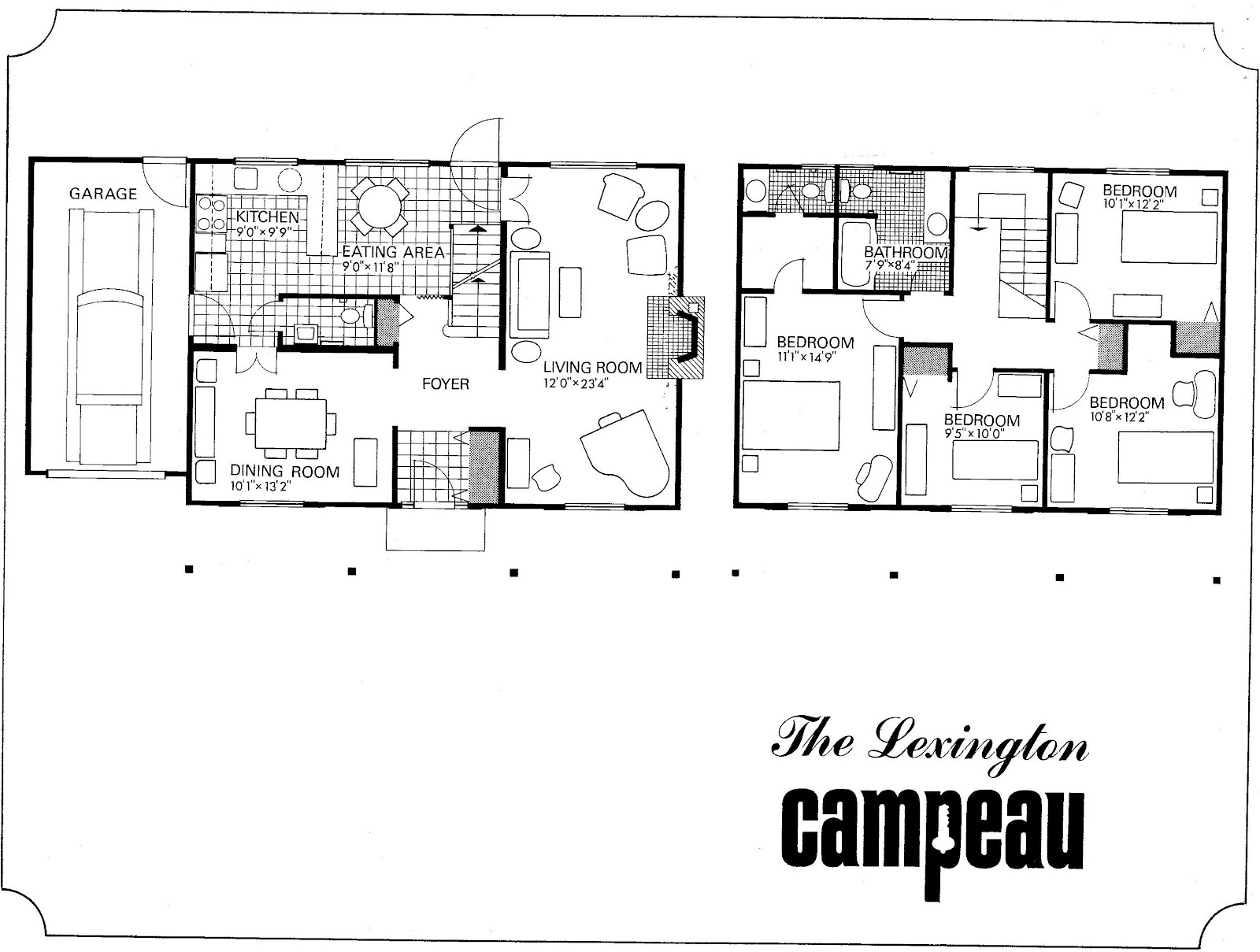 MidCentury Modern and 1970sEra Ottawa Evolution of a plan The