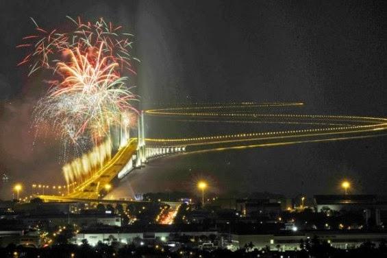 Jambatan Kedua P.Pinang Dinamakan Jambatan Sultan Abdul Halim Mu'adzam Shah