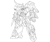 #2 Transformers Coloring Page