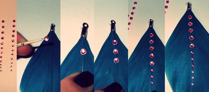 Как сделать перья кукле