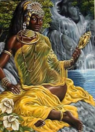 Nossa Senhora Aparecida Na Umbanda Roupa Amarelo