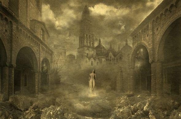 Yaroslav Gerzhedovich art painting photography surreal fantasy gothic dark photoshop