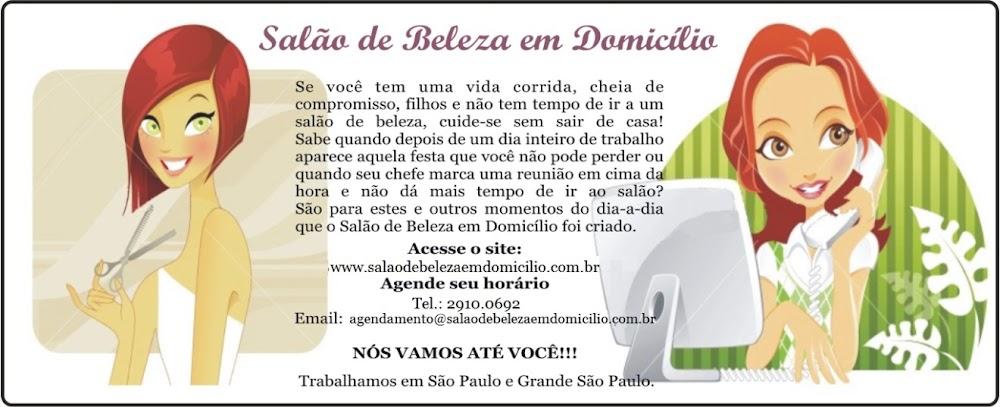 SALÃO DE BELEZA EM DOMICÍLIO