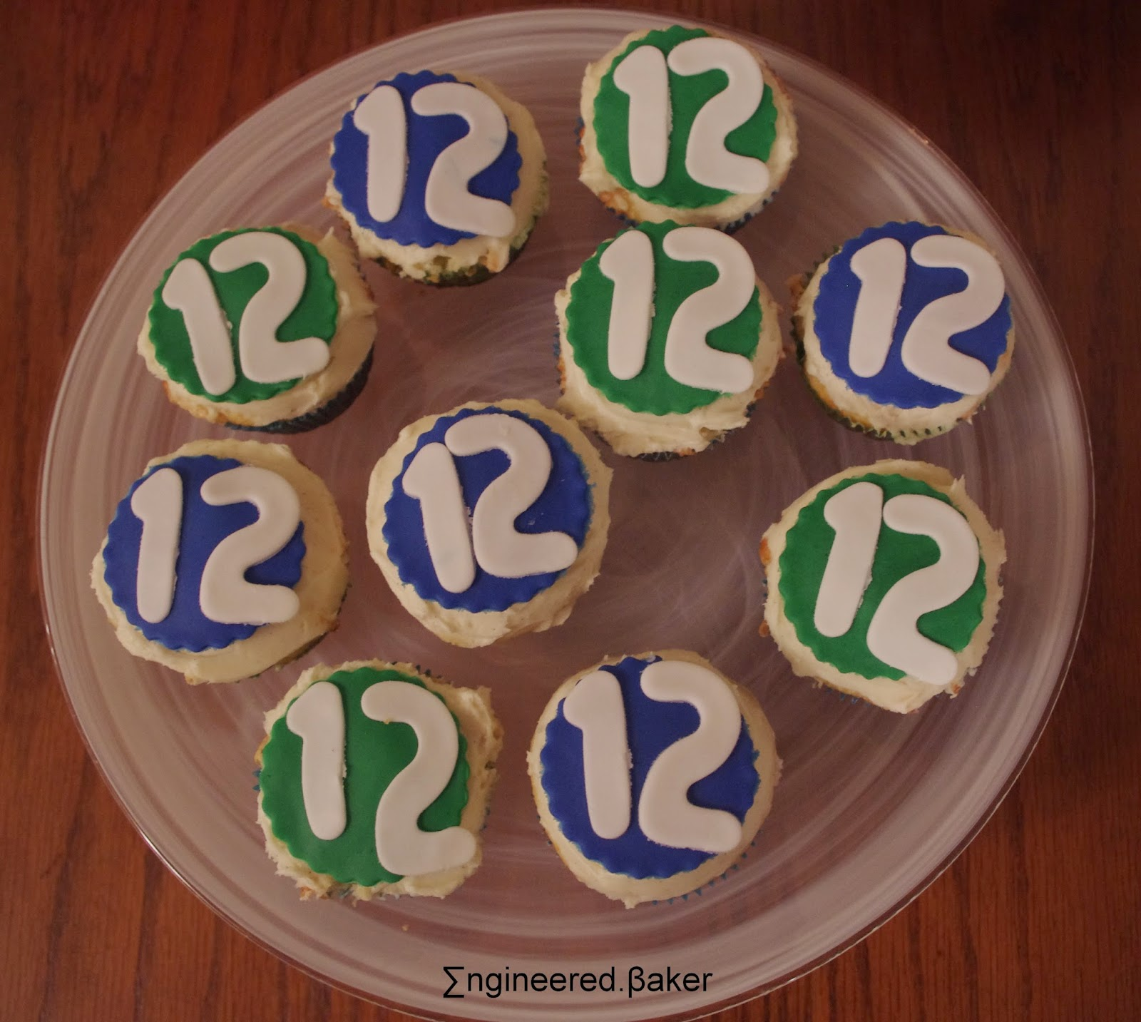 """12"" fondant cupcake toppers"