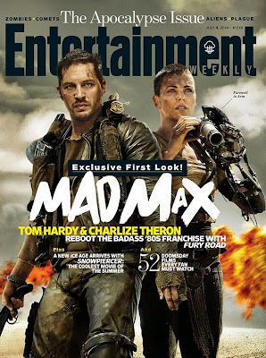 Entertainment Weekly Cover featuring Mad Max Fury Road