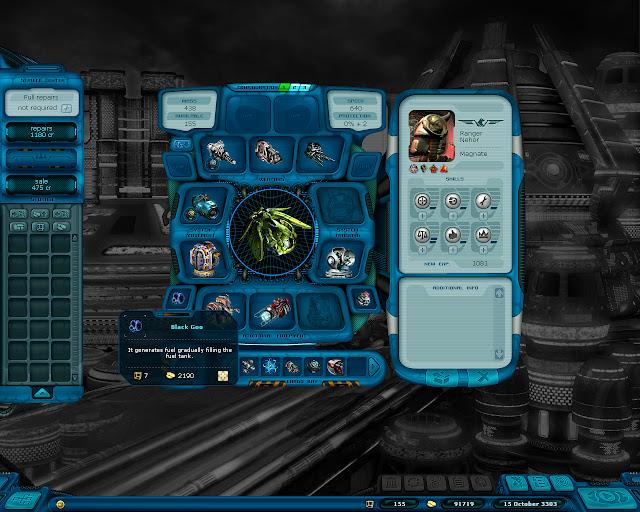 Space Rangers 2 - Black Goo Screenshot