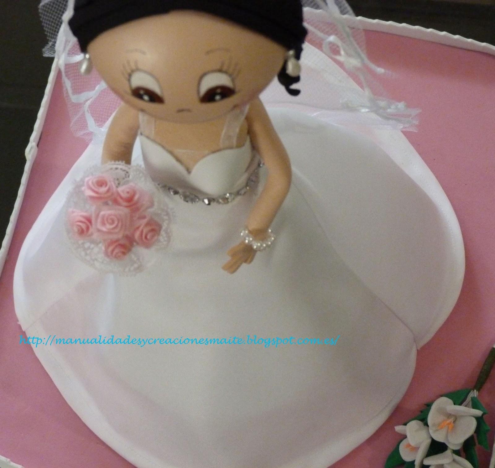 Como hacer un vestido de novia para fofucha
