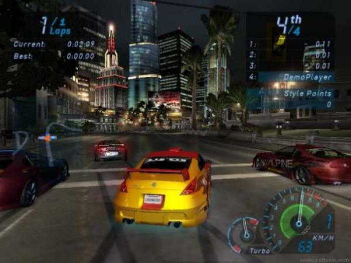 Need for Speed: Underground 2 / NFS 8 - PC Game Trainer