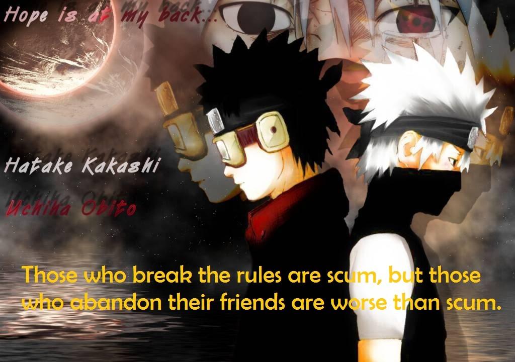 The next generation will  Kakashi Quotes