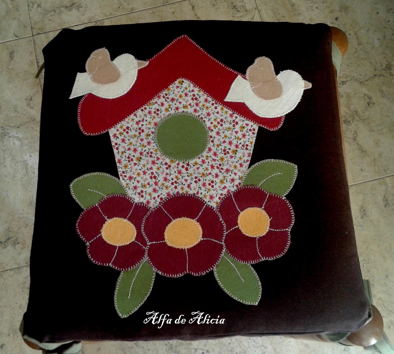 Alfa De Alicia Cojines Para Taburete  ~ Cojines Para Taburetes De Cocina