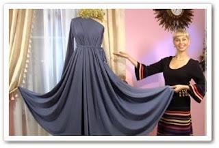 онлайн видеоурок Как сшить вечернее платье
