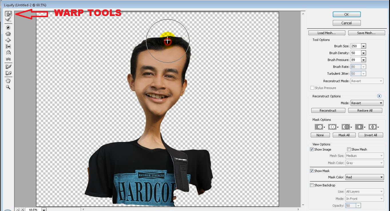 Gratis tutorial membuat karikatur dengan photoshop