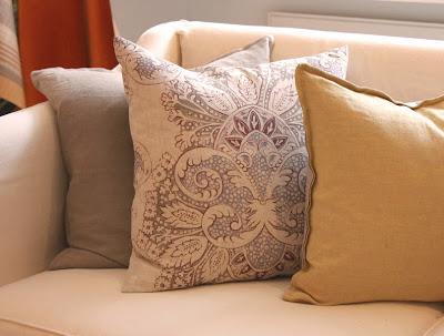 rococo cushion