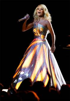 carrie underwood grammy awards