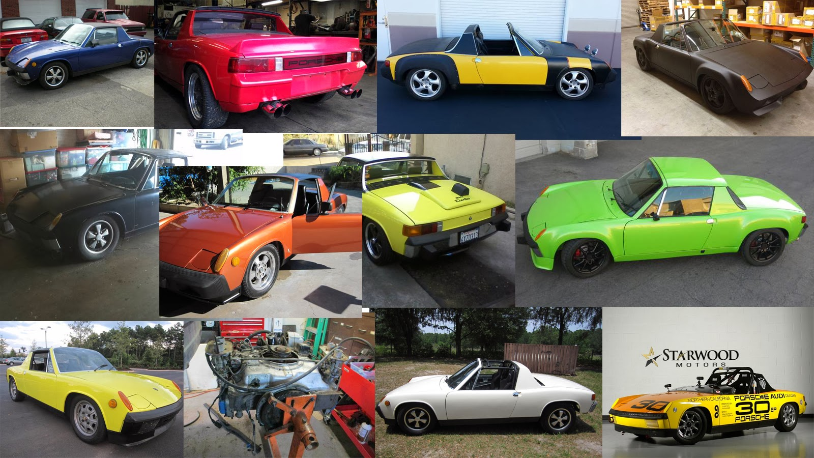 Market Update: Porsche 914 Cheaper By The Dozen; Featuring V8, WRX and13B Rotary Power