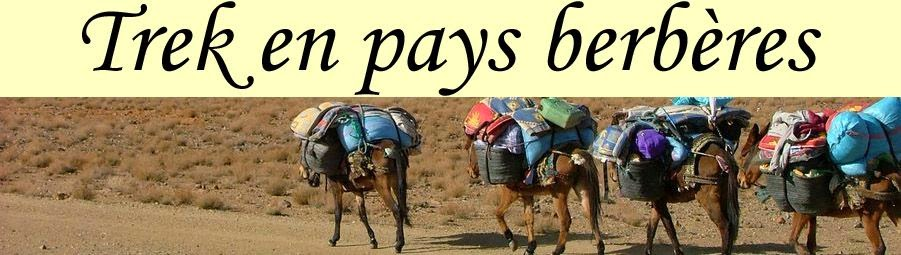 Trek en pays berbères