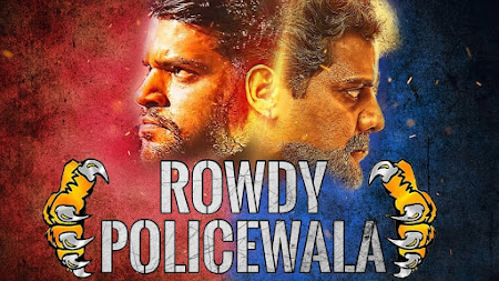 Poster Of Rowdy Policewala Full Movie in Hindi HD Free download Watch Online 720P HD