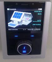 Schüco zonnecollectoren informatiepanel
