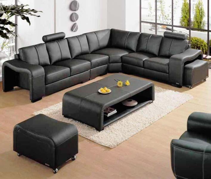 Interior Design With Leather Furniture ~ Leather for living room interior home design