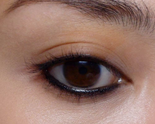 Russet Brown Eye Color Smoky dark russet brown.