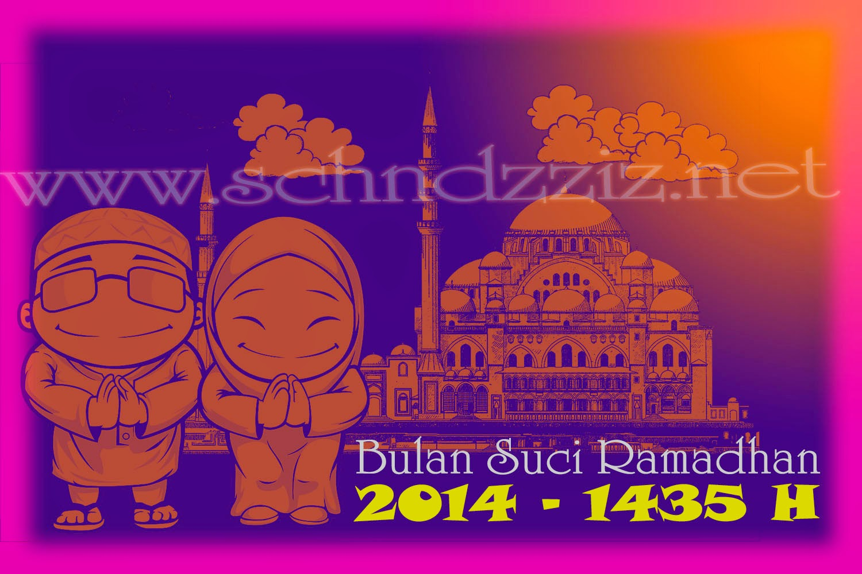 Gambar Kata Kata Ucapan Bulan Suci Ramadhan 2015