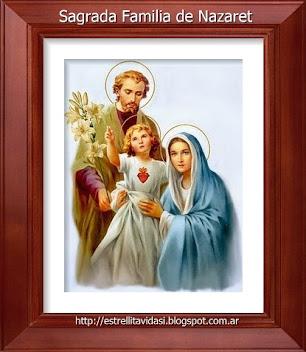 Sagrada Familia de Nazaret, ora pro nobis!
