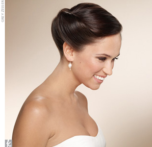 Hairstyle Review and Pictures: Bun wedding hairstyles idea for you