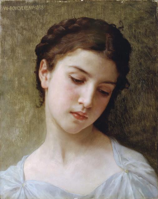 William Adolphe Bouguereau,portrait, genre painting