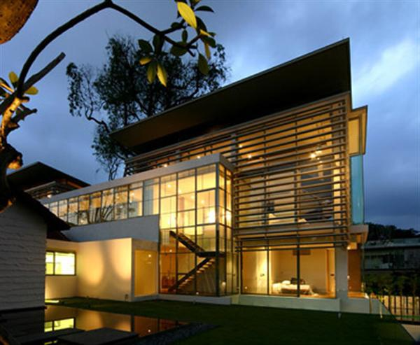 Luxury glass design house exclusive residence modern for Luxury glass homes